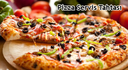 Pizza Servis Tahtası