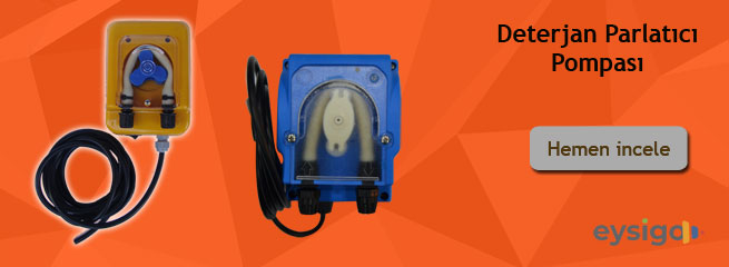 Bulaşık Makinesi Parlatıcı Pompaları