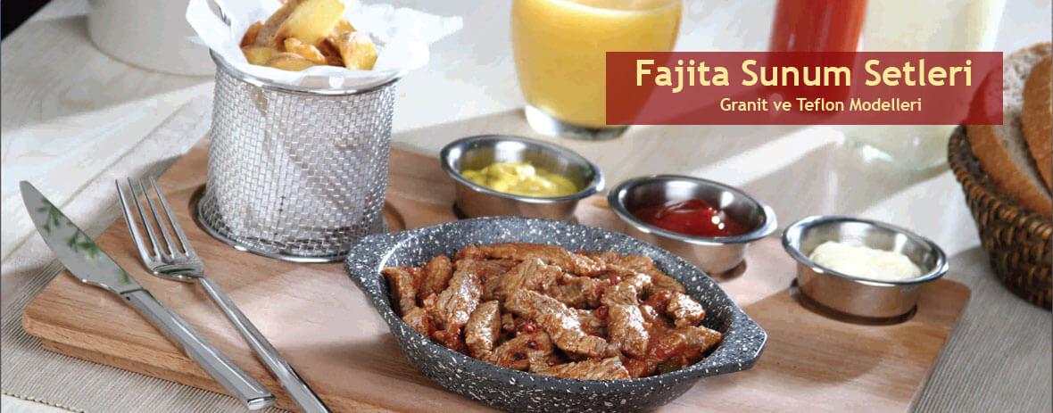 Fajita Et Sunum Setleri