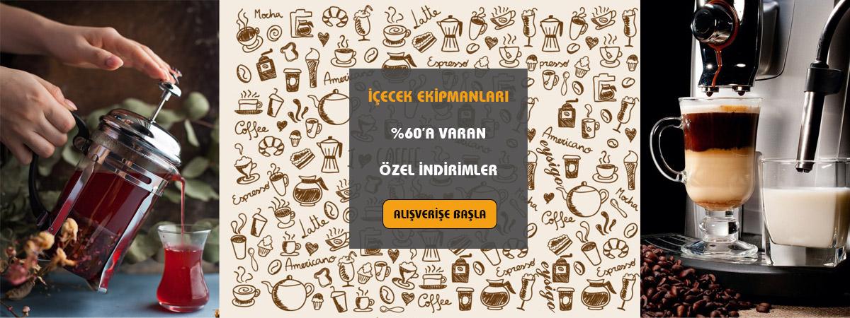 Çay Kahve ve İçecek Ekipmanları