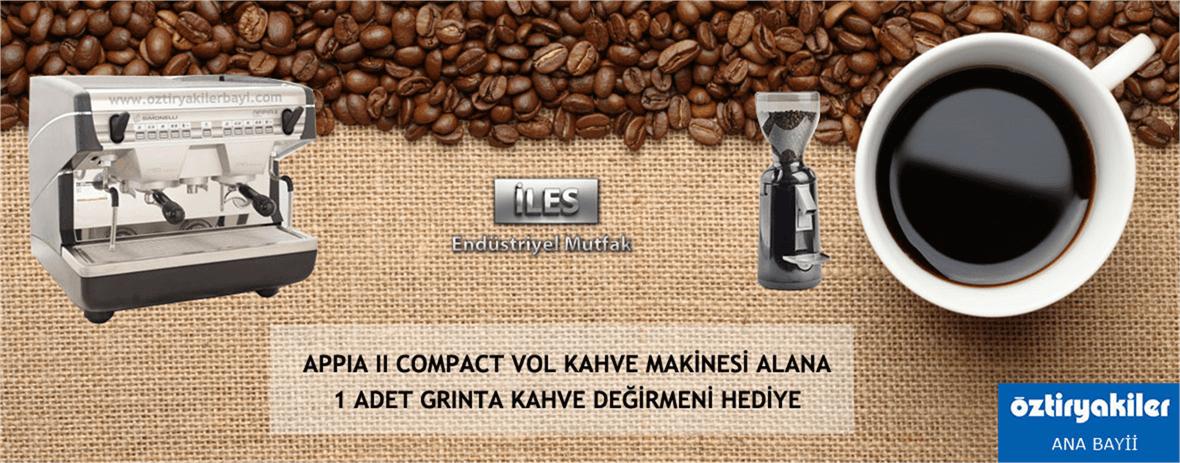 Nuo Simonelli 2 V Compact Kahve Makinesi