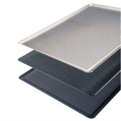 Al Metal - Al Metal Alüminyum İtalyan Açılı Delikli Tava 1.5 mm 32.5x53x1 Cm