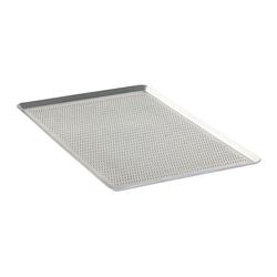 Al Metal - Al Metal Alüminyum İtalyan Açılı Delikli Tava 2 mm 40x60x1 Cm (1)