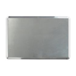 Al Metal - Al Metal Alüminyum İtalyan Açılı Deliksiz Tava 1.5 mm 32.5x53x1 Cm (1)