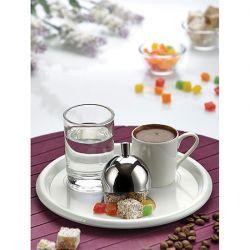 BİRADLI - Biradlı Türk Kahve Servis Takımı Yuvarlak 19 Cm (1)