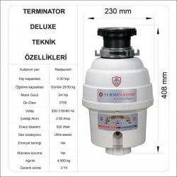 Öztiryakiler - Çöp Öğütme Makinesi Restaurant Tipi Evye Altı (1)
