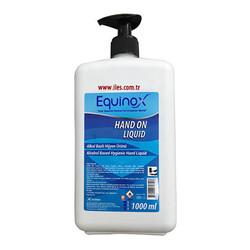 EQUINOX - Equinox Hand On Alkol Bazlı El Dezenfektanı, Sıvı 1 Litre