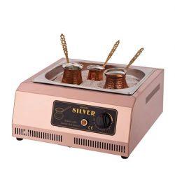Silver - Kumda Kahve Makinesi 3 Cezveli