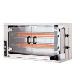 Öztiryakiler - Öztiryakiler Piliç Çevirme Makinesi 2 Şiş 8-10 Piliç Kapasite Elektrikli