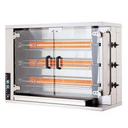 Öztiryakiler - Öztiryakiler Piliç Çevirme Makinesi 3 Şiş 12-15 Piliç Kapasiteli Gazlı