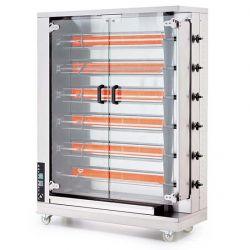 Öztiryakiler - Öztiryakiler Piliç Çevirme Makinesi 6 Şiş 24-30 Piliç Kapasite Elektrikli