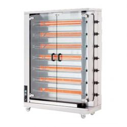 Öztiryakiler - Öztiryakiler Piliç Çevirme Makinesi 7 Şiş 28-35 Piliç Kapasiteli Gazlı