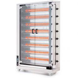 Öztiryakiler - Öztiryakiler Piliç Çevirme Makinesi 8 Şiş 32-40 Piliç Kapasiteli Gazlı