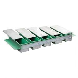 İles - Tost Ekmek Kalıbı Teflon Kaplamalı Kapaklı, 5'li 13X13X30 Cm